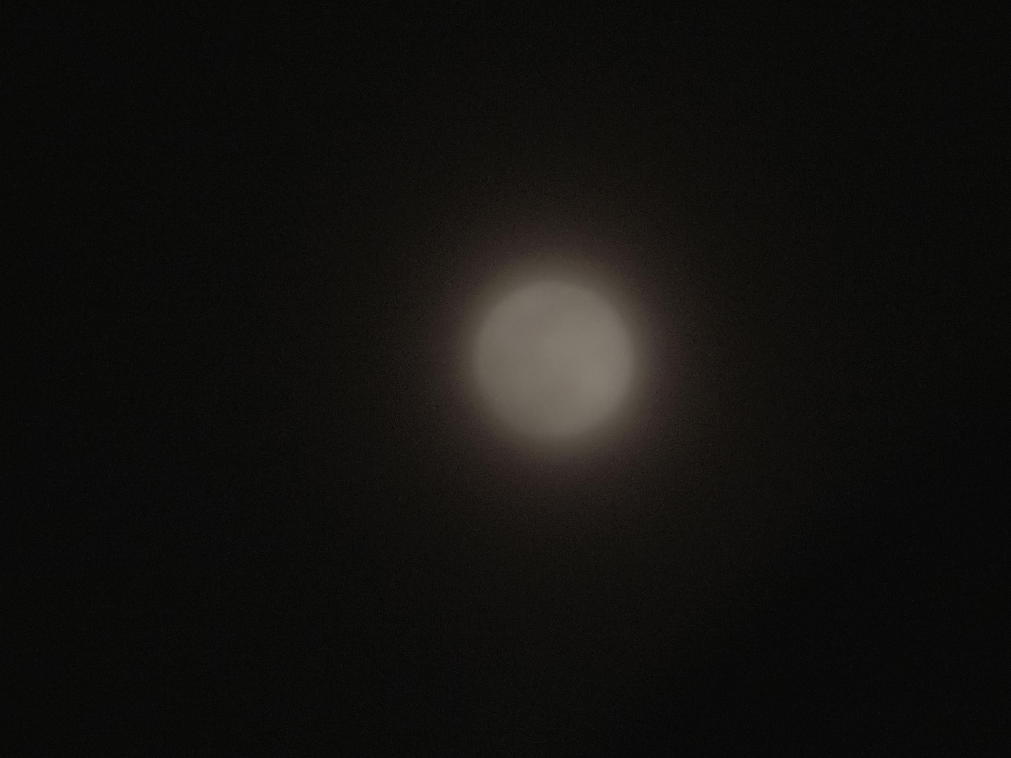 相机210mm长焦拍月亮